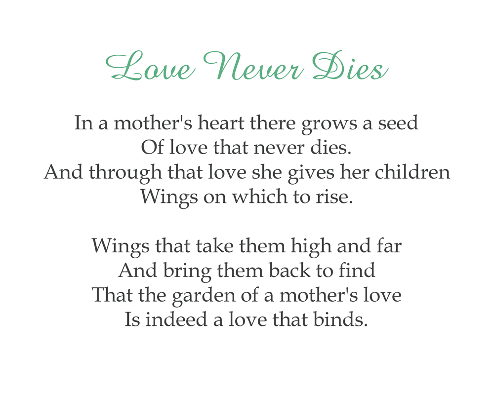 Essay about mother's love