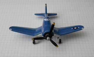 avión de Disney Riley