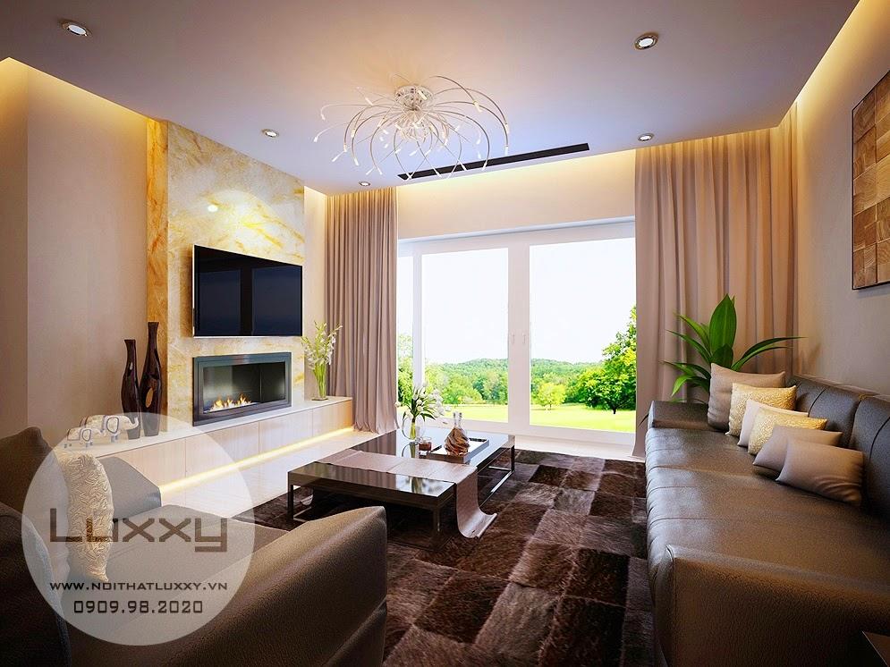 Thiết kế nội thất Biệt Thự sinh thái Ecopark đẹp hiện đại, căn số 062 Vườn Mai