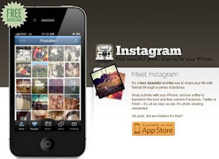 Instagram photography application