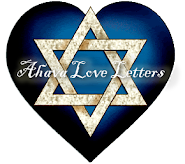The original Ahava Love Letters - read them weekly (by Steve Martin)