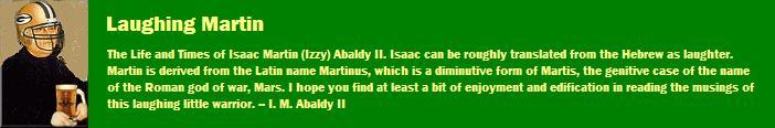 Laughing Martin