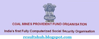 CMPFO Coal Mines Recruitment 2013 Exam Pattern