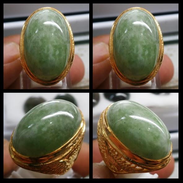 ... Hijau 28x18x11mm Ring Aloy Super Gold crome Harga Rp.1,500,000