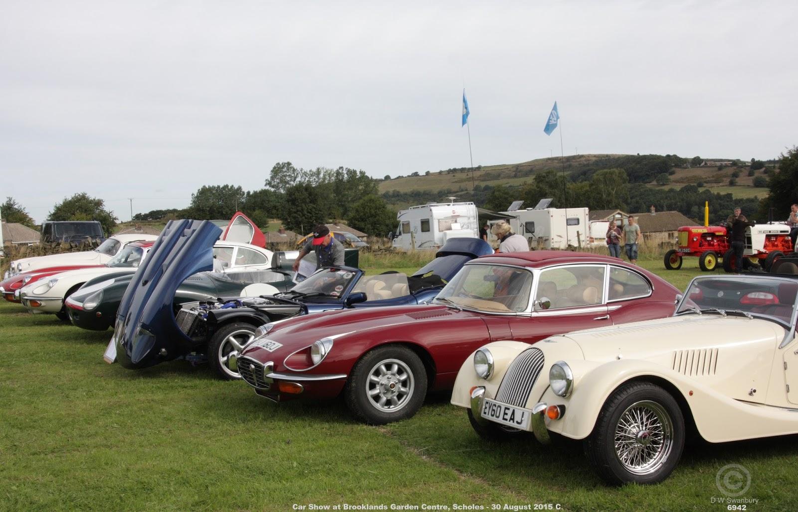 Brooklands Garden Centre Car Show