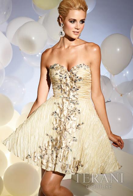 Vestidos cortos de fiesta terani 2012 16 - Gen� K�z Abiye Modelleri