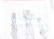 Legend of Korra: Korra, Mako and Bolin, I drew this before I watched the .