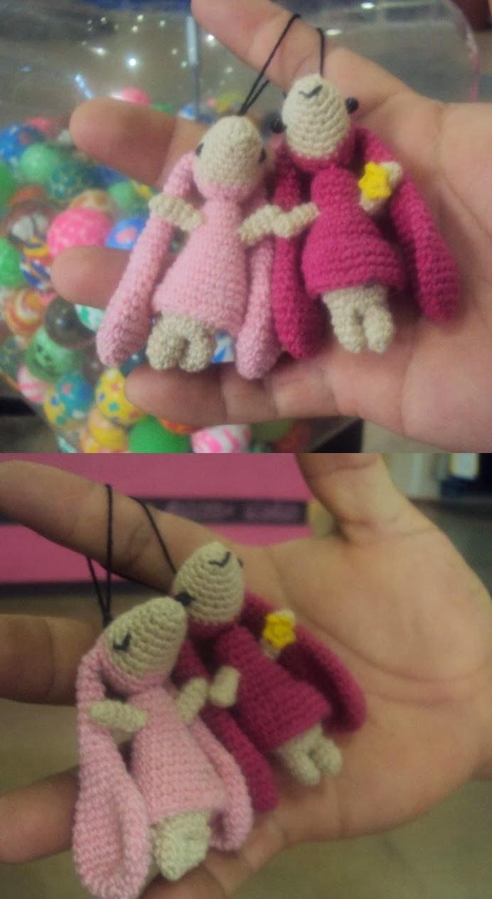 Mi mundo: Amigurumi MX: Patrón amigurumi gratis: Conejitos de Chobits