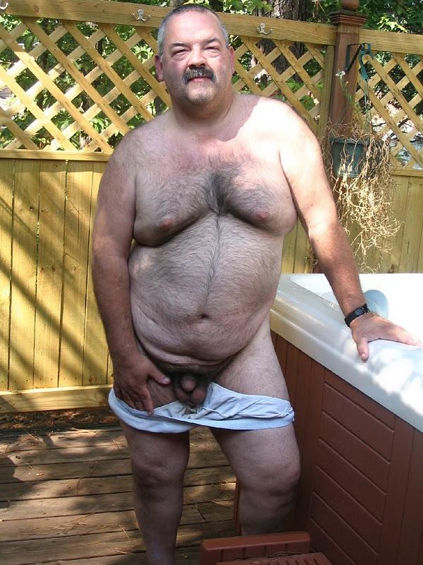 Mustache Daddy Bear