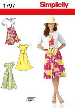 Simplicity 1797 Dress Pattern