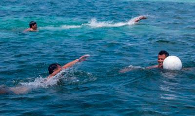 Swimming, Malapascua Exotic island dive resort, Sports fest 2015