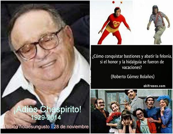 ADIÒS ROBERTO GÒMEZ BOLAÑOS