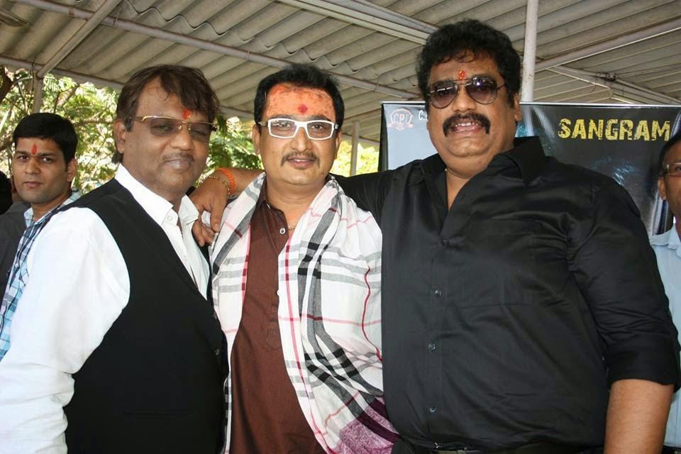 Sujit Tiwari, Awadhesh Mishra at Bhojpuri New Movie 2015 'Mokama 0 KM'  wallpaper download