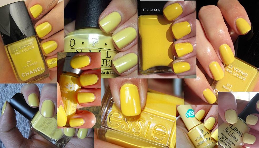 Trend Alert: Yellow Nail Polish