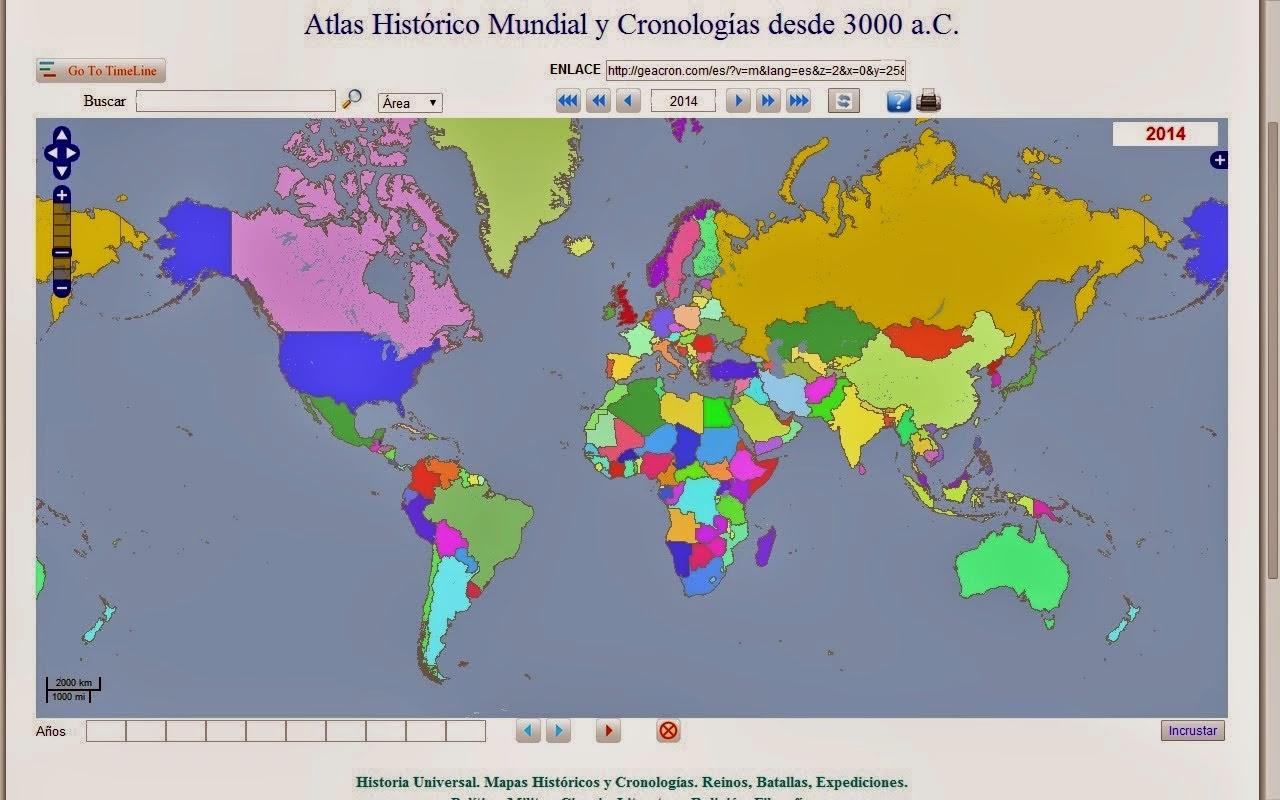 Mapas históricos interactivos