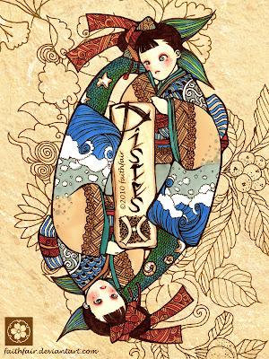 [Midheaven Signs] - Dấu hiệu Thiên Đỉnh chiếu Song Ngư