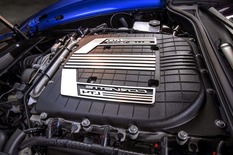 Chevrolet Corvette Z06 Engine