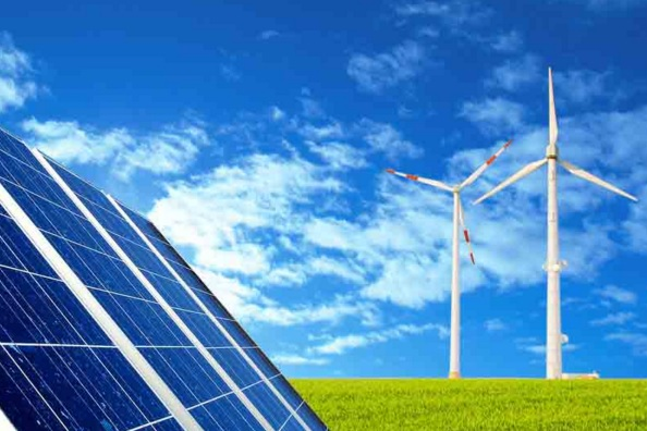 5-year Plan for Renewable Energy from Sun and Wind