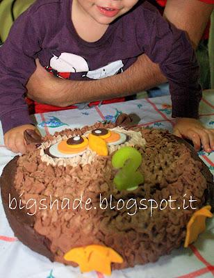 torta gufo e tanti auguri lorenzinsonne!
