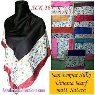 Segi Empat Umama Scarf Silko - AzzahidahCollections.com