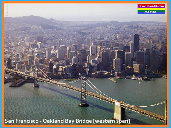 San Francisco Oakland Bay Bridge Western Span