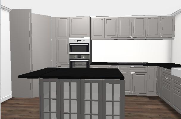 Vi bygger i Øvre sveberglia: kjøkken (nesten) bestilt!