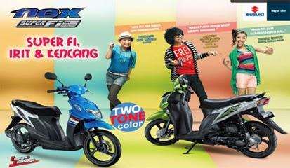 Brosur Harga Kredit Suzuki Nex FI Terbaru 2015