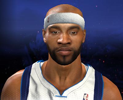 NBA 2K14 Vince Carter Cyberface with Beard