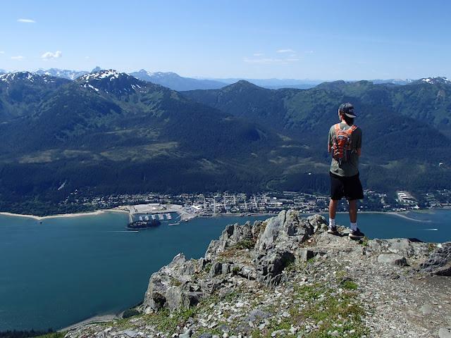 Tanner overlooking Douglas Island