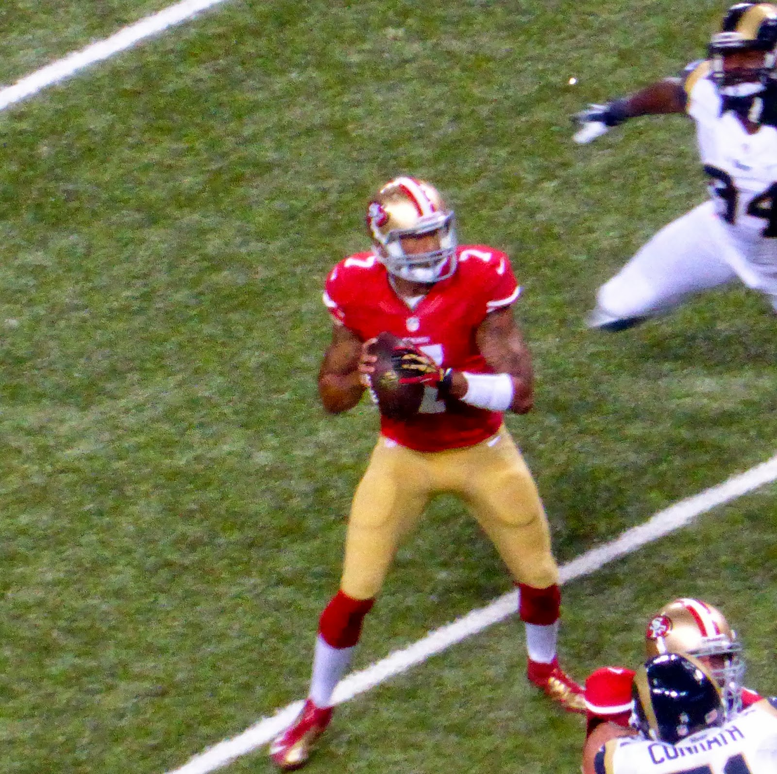 sports road trips san francisco 49ers 35 at st louis rams 11