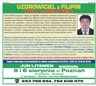 Uzdrowiciel z Filipin Jun Litawen
