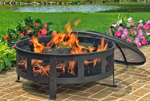 Win Free Outdoor Classic Mesh Fire Pit Giveaway