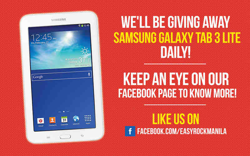 Contest: Win Samsung Galaxy Tab 3 Lite Daily