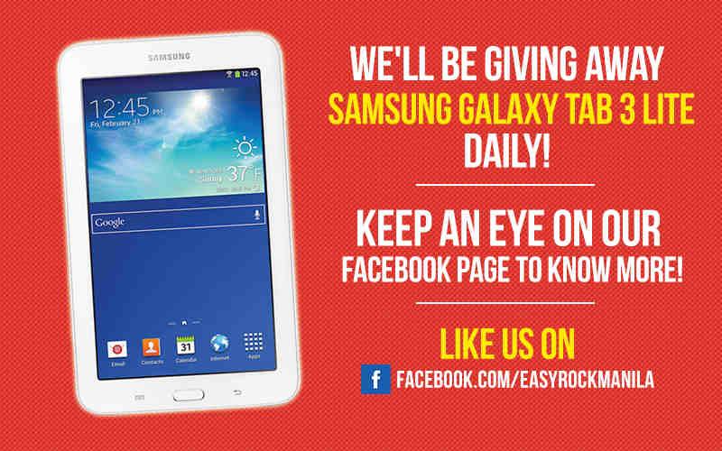 Contest: Win Samsung Galaxy Tab 3 Lite Daily