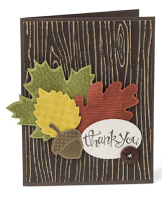 Thank You Card - Stampin' Up! - www.jennsavstamps.blogspot.com