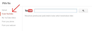 From Youtube - Form Untuk URL Youtube