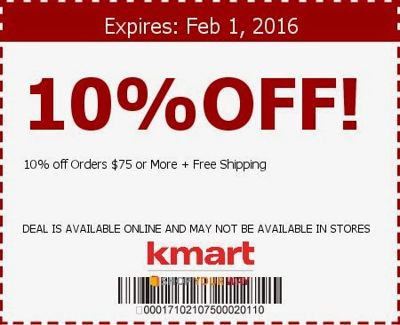 Kmart discount coupon