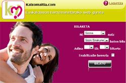 Kaixomaitia.com, un portal de contactos para euskaldunes