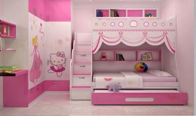 Tuyển chọn bộ những mẫu phòng ngủ đẹp cho bé gái