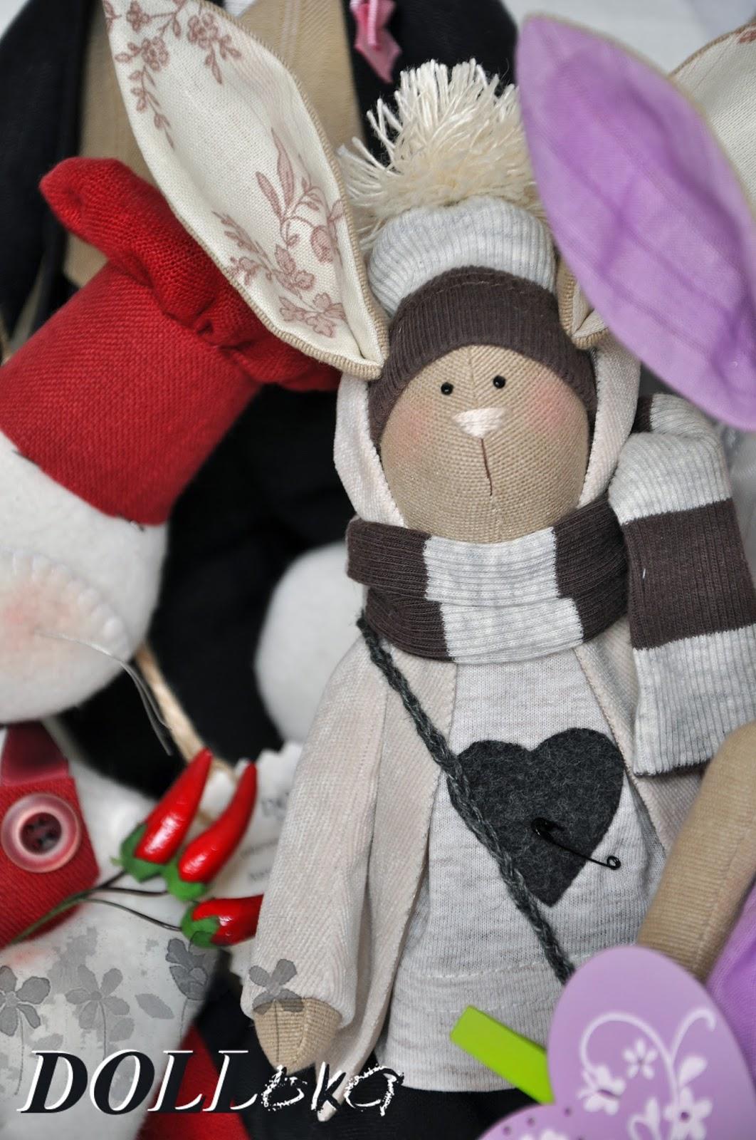 заяц тильда текстильная игрушка ручной работы
