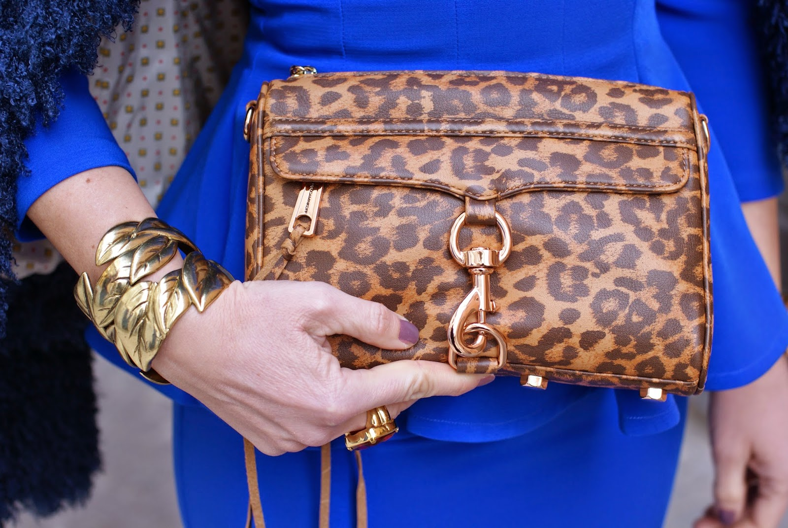 Chabel tenderly nail polish, Rebecca Minkoff mini MAC clutch in leopard, Fashion and Cookies fashion blog, fashion blogger