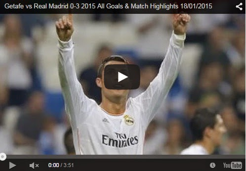 Highlights : Getafe 0-3 Real Madrid