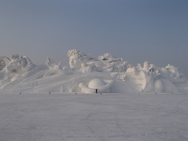 Snow Sculpture Art Expo