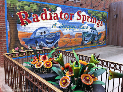 Cars Land sign Happy Place Radiator Springs