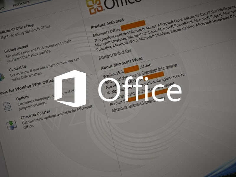Free Product key for Microsoft Office 2013