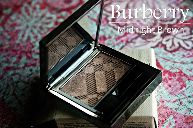 Burberry Sheer Eye Shadow in Midnight Brown Review, Photos & Swatches