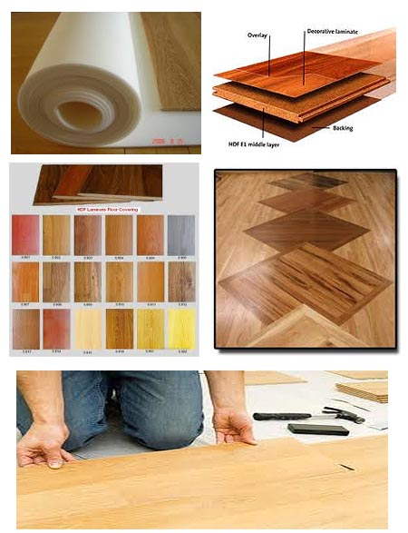 how to clean laminate floors after construction