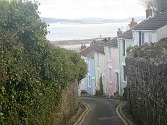 Mumbles Village, located on Swansea bay and is the gateway to Gower