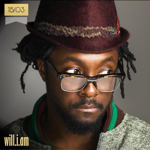15 de marzo | will.i.am - @iamwill | Info + vídeos