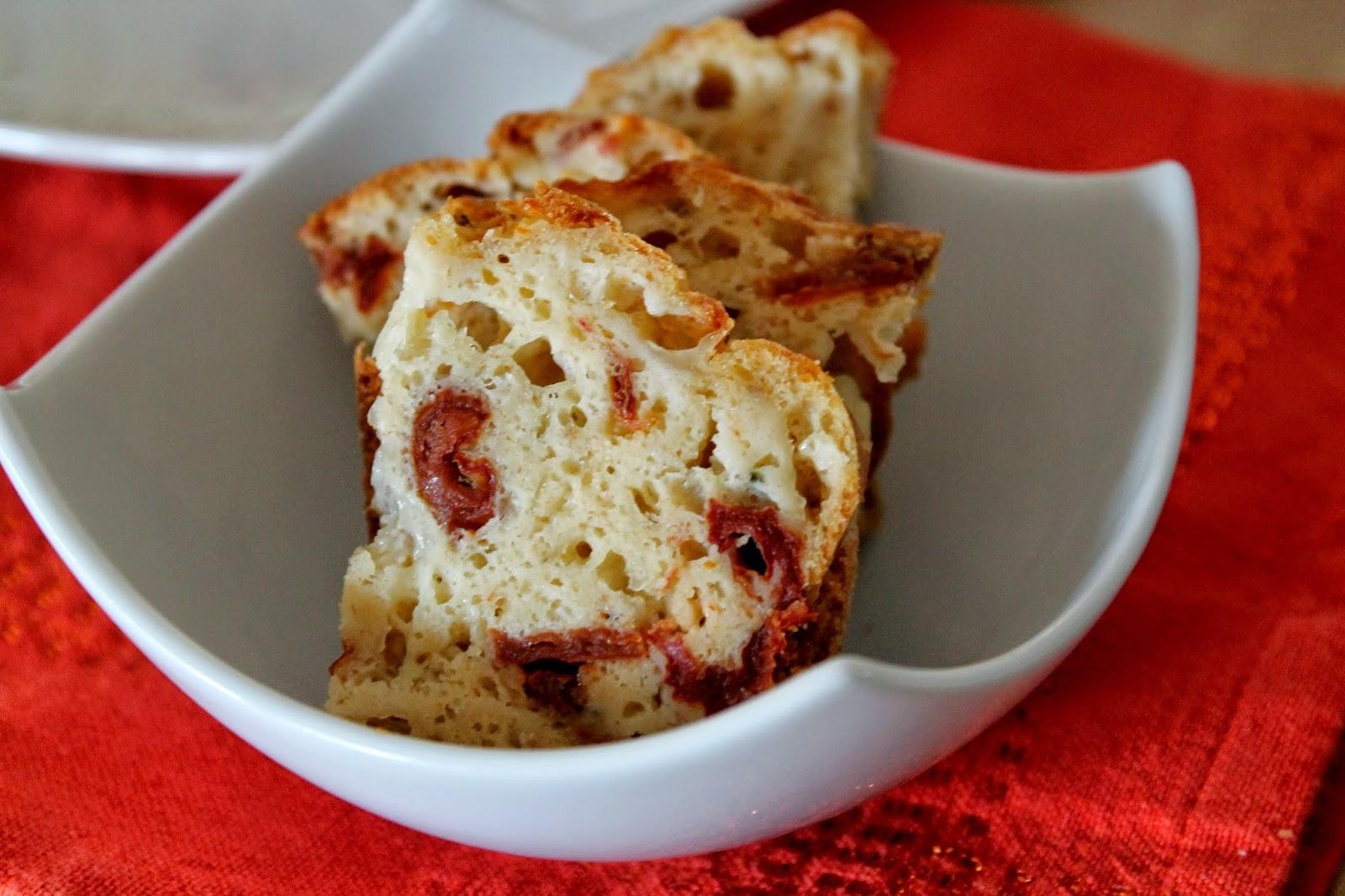 Cake Jambon Sec Tomate Comt Ef Bf Bd